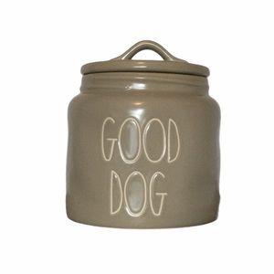 NEW RAE DUNN GOOD DOG Treats Canister